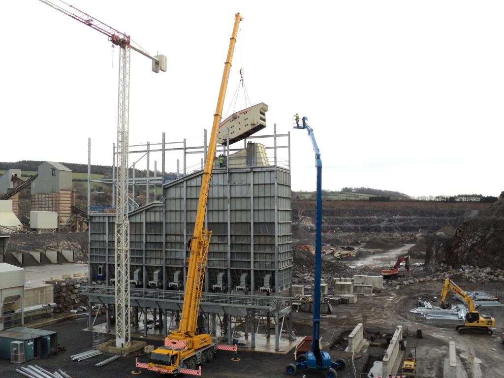 New Glendinning stone processing plant