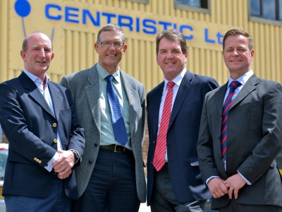 Wolf Minerals Visits Centristic